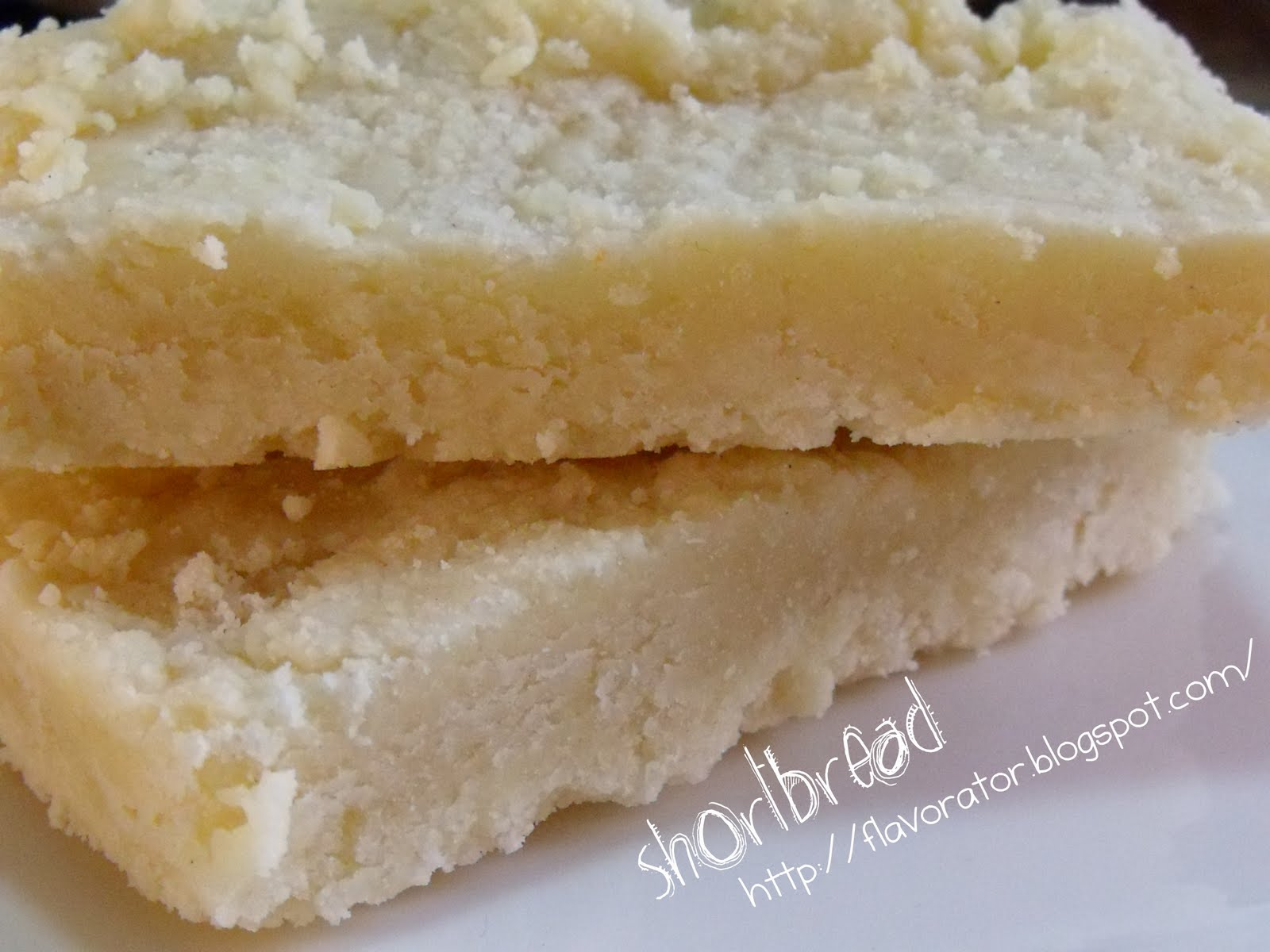 fLAVORATOr: Tender Shortbread Bars Dressed 3 Ways