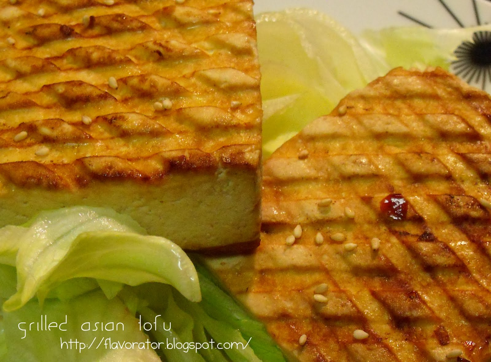 fLAVORATOr: Grilled Asian Tofu + Pumpkin Soup + Pumpkin ...