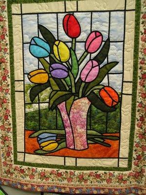 A esperanza le gusta coser contigo bloque n 7 vidriera - Modelos de vidrieras ...