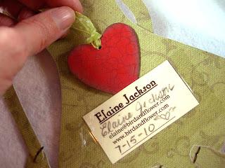 elaine jackson paper doll heart