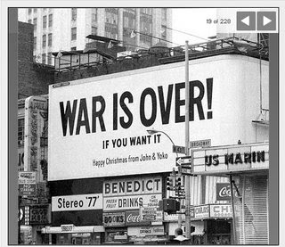 War Is Over!(if you want it)