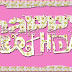 PINK SATURDAY - HAPPY BIRTHDAY WORD ART