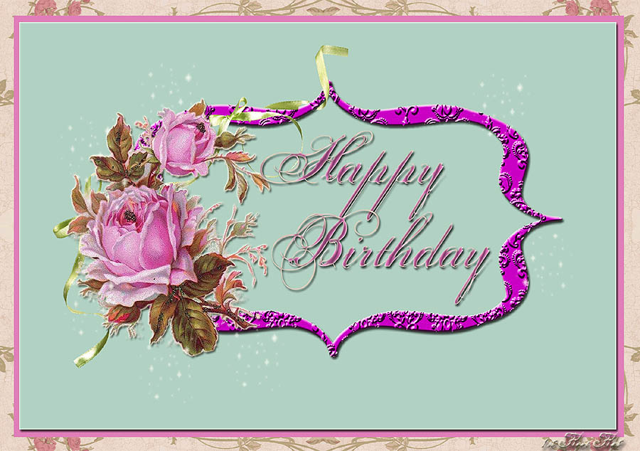 Freebie Digital Happy Birthday Card