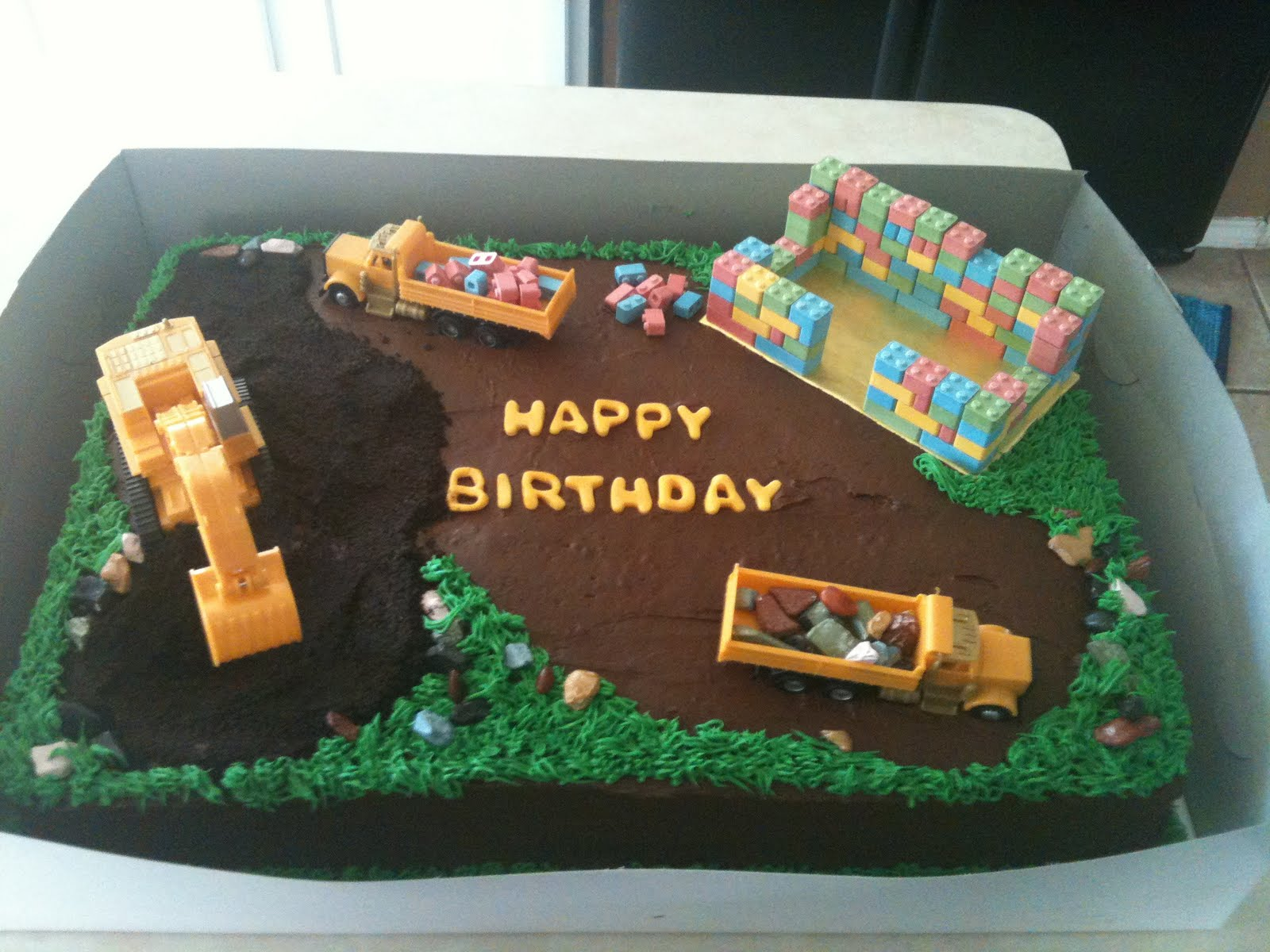 Cakes By Joanna Construction Site Birthday Cake