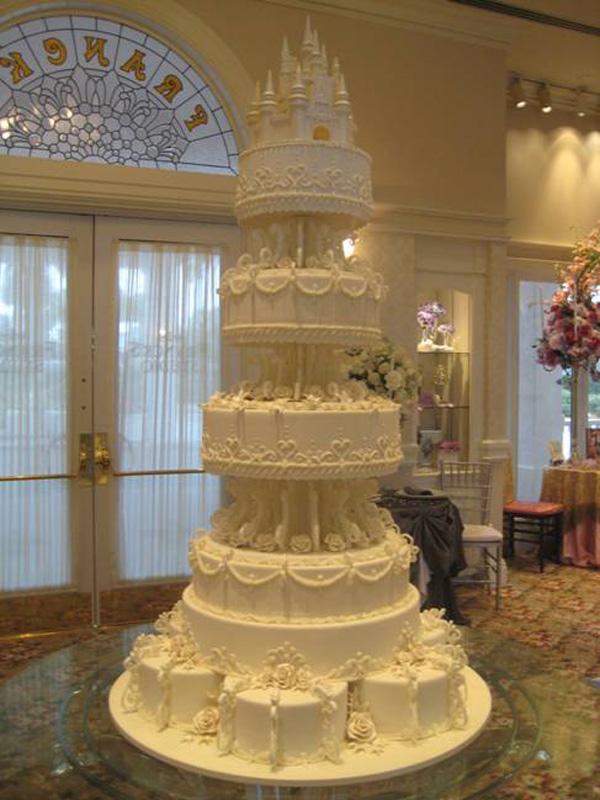 Disney Wedding Cake Images : Cakes - Disney History