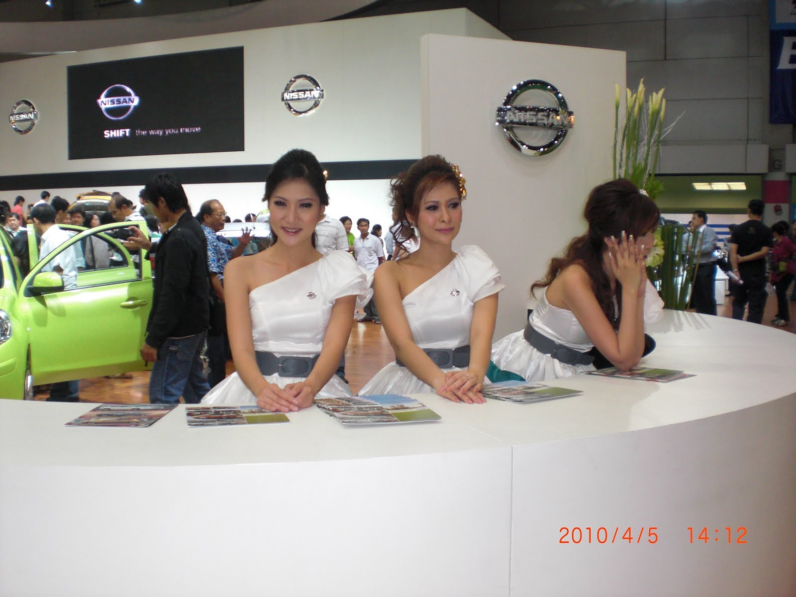 Nissan girls are a bit staid