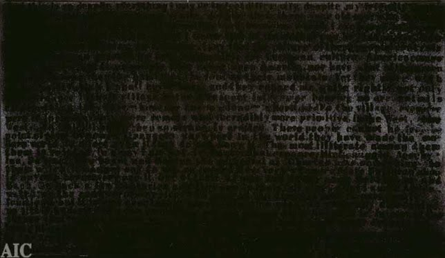 jazzolog strangers in the land stranger in the village 13 1998 e l oil and acrylic paint gesso and coal dust on canvas by glenn ligon 1960 the nearly illegible text is from