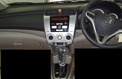 Honda City 2009 Interior Design 2