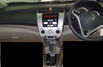 Honda City 2009 Interior Design 2