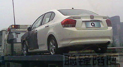 Honda City 2009 Rearview 2