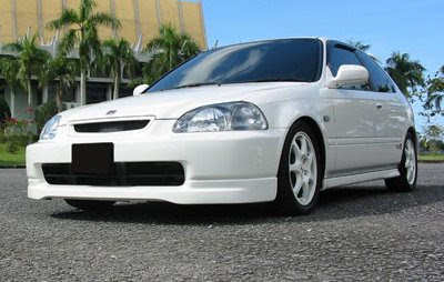 Honda Civic EK4 White