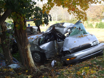 Road Safety Talks: Another Tree Crashed 2000 Buick at ...