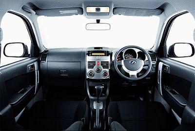 Perodua Nautica 4WD Interior