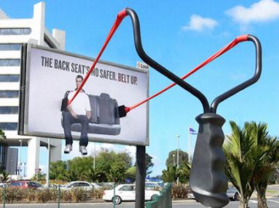 Seatbelt Funny Ads