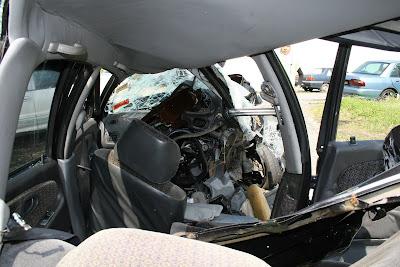 proton wira crashed 1