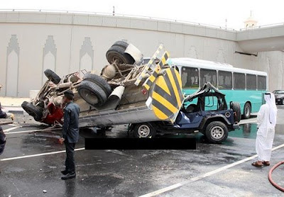 Doha Road Traffic Accident Photo 3