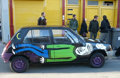 Weird Car Painting 3