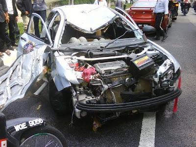Crash Satria
