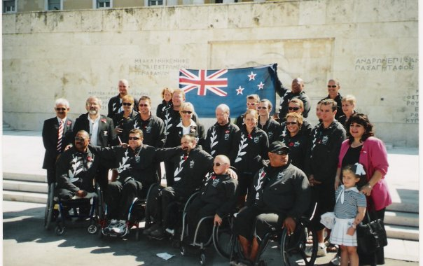 Athens 2004 - NZ Paralympic Team