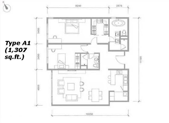 Klcc Luxury Condominium Pavillion Residences Floor Plan
