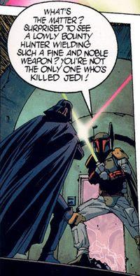 Darth Vader vs. Boba Fett