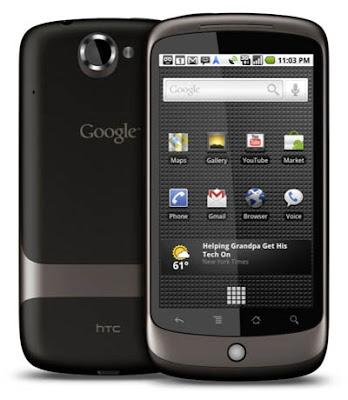 Google Nexus One Smartphone Official Image