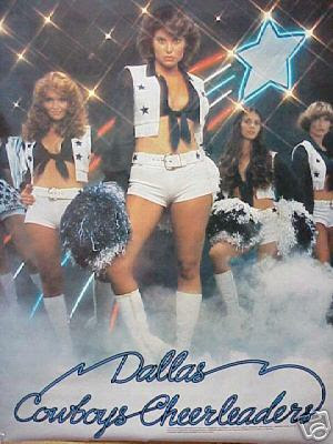 1970s Dallas Cowboys Cheerleaders http://brownsoundthoughts.blogspot.com/