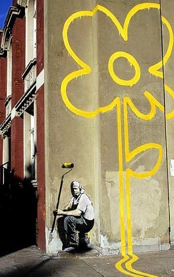 Banksy Pollard Street:
