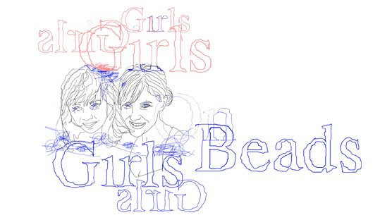 Girls On Beads