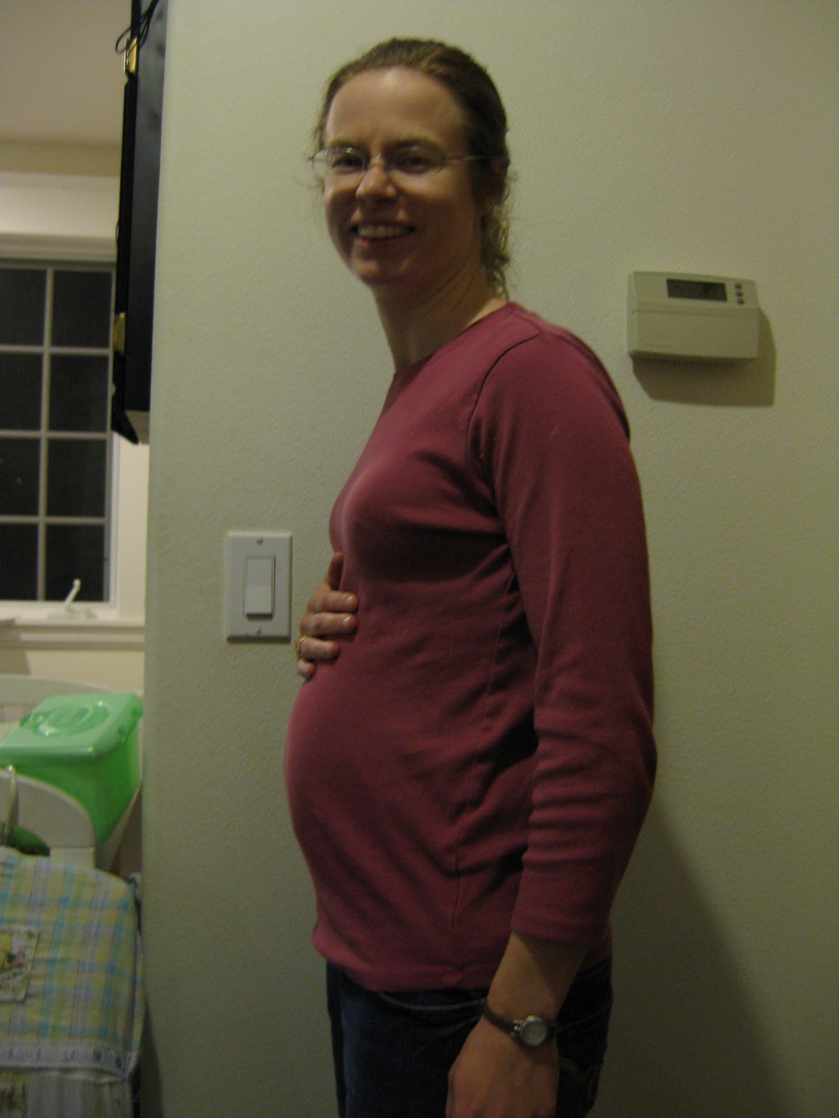 Can you guess how far along I am? I have a guess based on past pregnancies, ...