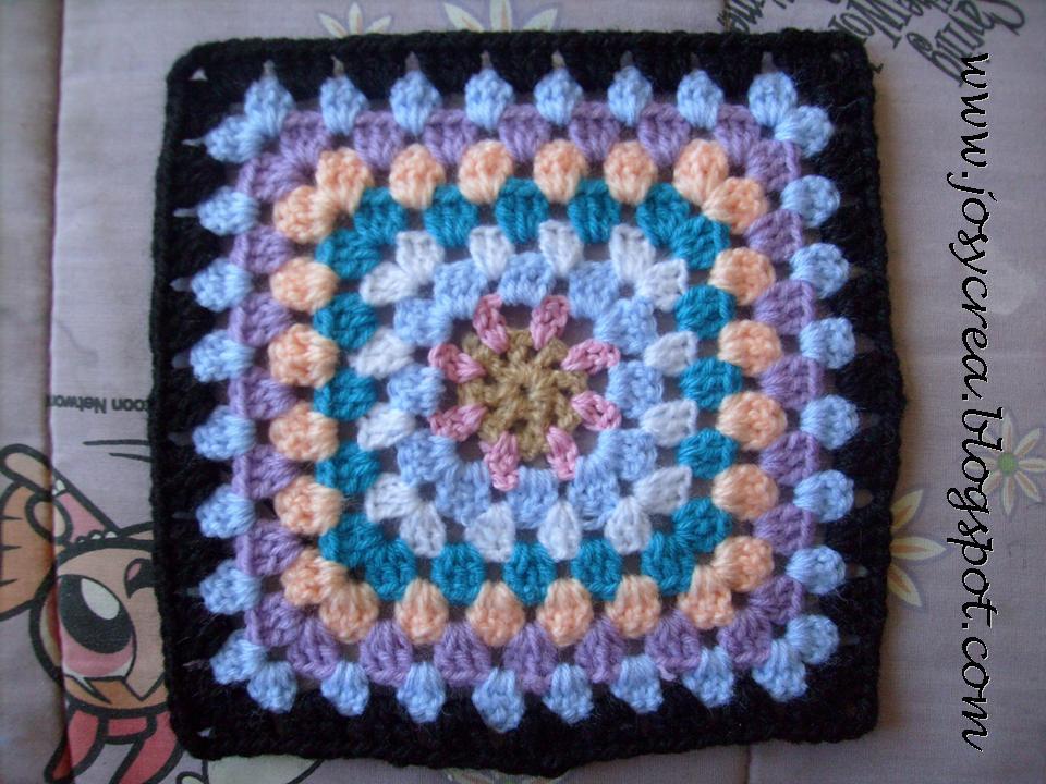 Josycrea tejido a crochet y m s cuadraditos - Cuadraditos de crochet ...