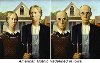 American Gothic Redefined in Iowa