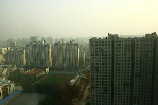 Vistas de Beijing desde 22 ART Plaza