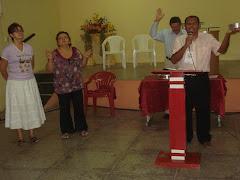 Ministrando a Santa Ceia