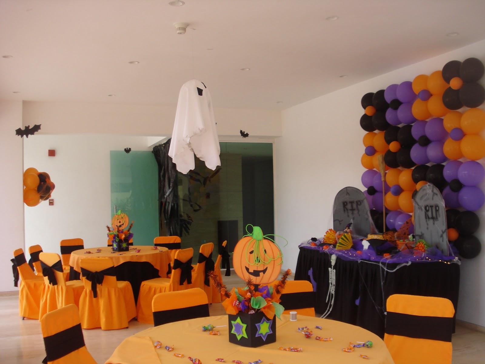 Kukuruchos decoraci n for Decoracion mesa halloween