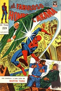 el hombre araña de el tony 219