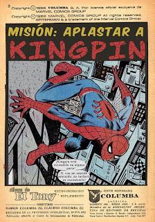 Títulos de Suple El Fabuloso Hombre Araña 231