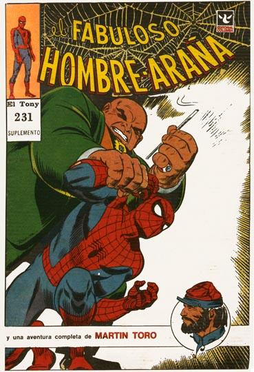 [Debate] Los Orígenes Comiqueros Marvel, DC  y otros en Argentina  El-fabuloso-hombre-ara%C3%B1a-231-b