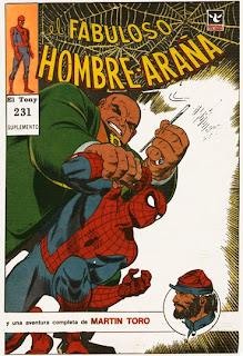 Suple El Fabuloso Hombre Araña 231