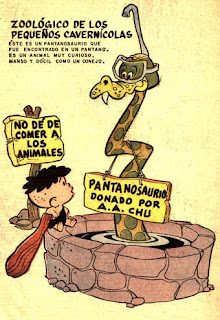Poster de Chiquilladas 217, Los Pequeños Cavernícolas, Novaro