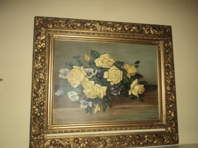 Antique ART Garden: Great Use for an ANTIQUE Picture FRAME