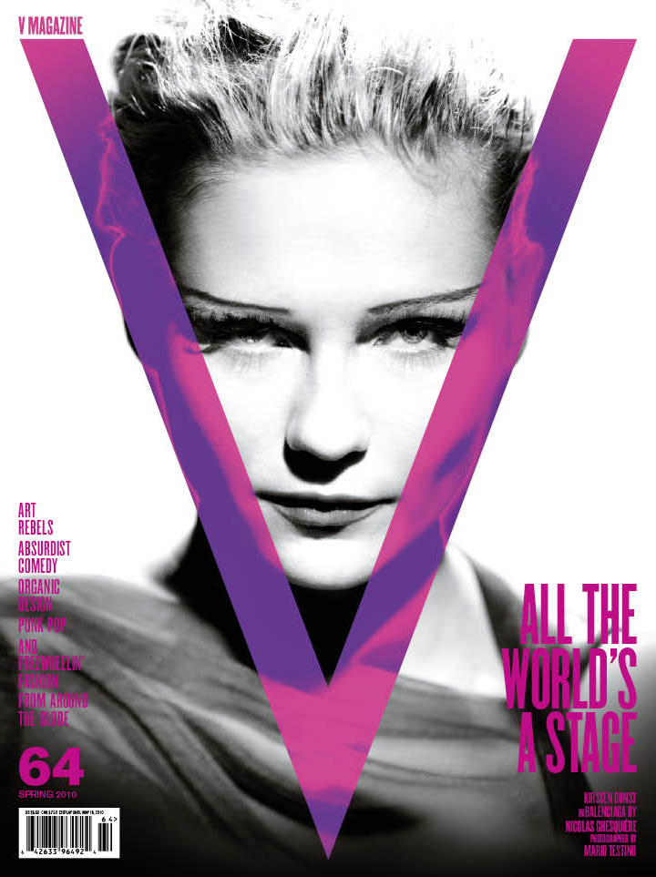 Smile: V Magazine #64: Kirsten Dunst by Mario Testino