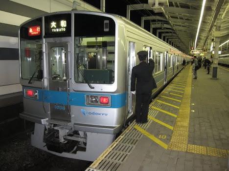 1日1本だけ運行される小田急線 急行大和行@代々木上原駅