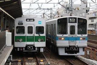 東京メトロ千代田線 霞ケ関行き8 小田急1000形(平日1本運行)