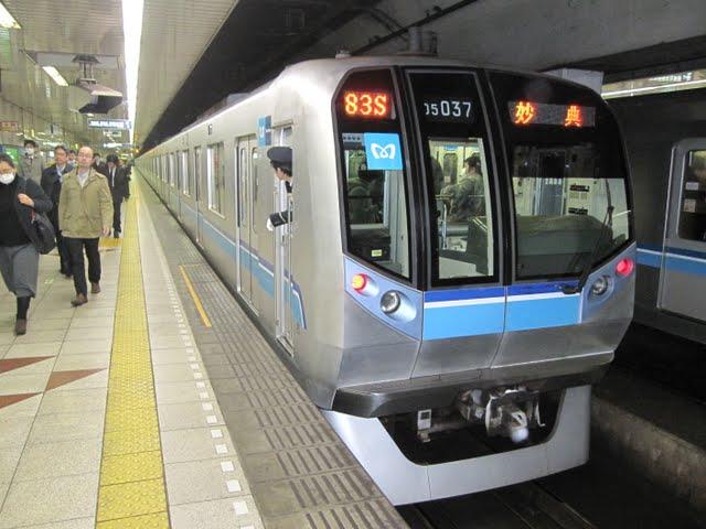 東京メトロ東西線 妙典行き3 05系LED 05系N
