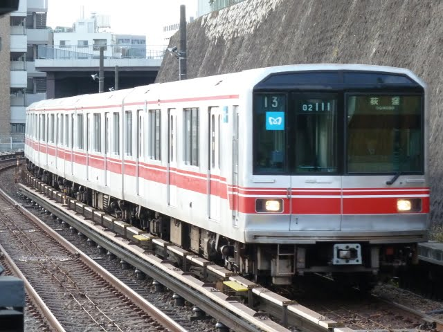 東京メトロ丸ノ内線 荻窪行き1 02系幕式