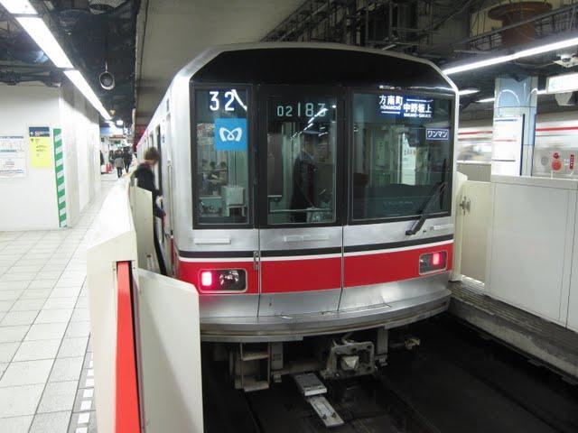 東京メトロ丸ノ内線 方南町行き 02系幕式