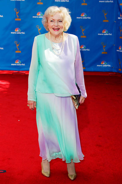 Betty White Many People Have Criticized Betty White S Attire And Maybe