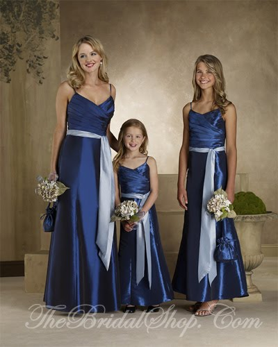 Royal Blue Wedding Bouquets on Lovely Bridesmaid Gowns In A Royal Blue You Can See These Gowns At