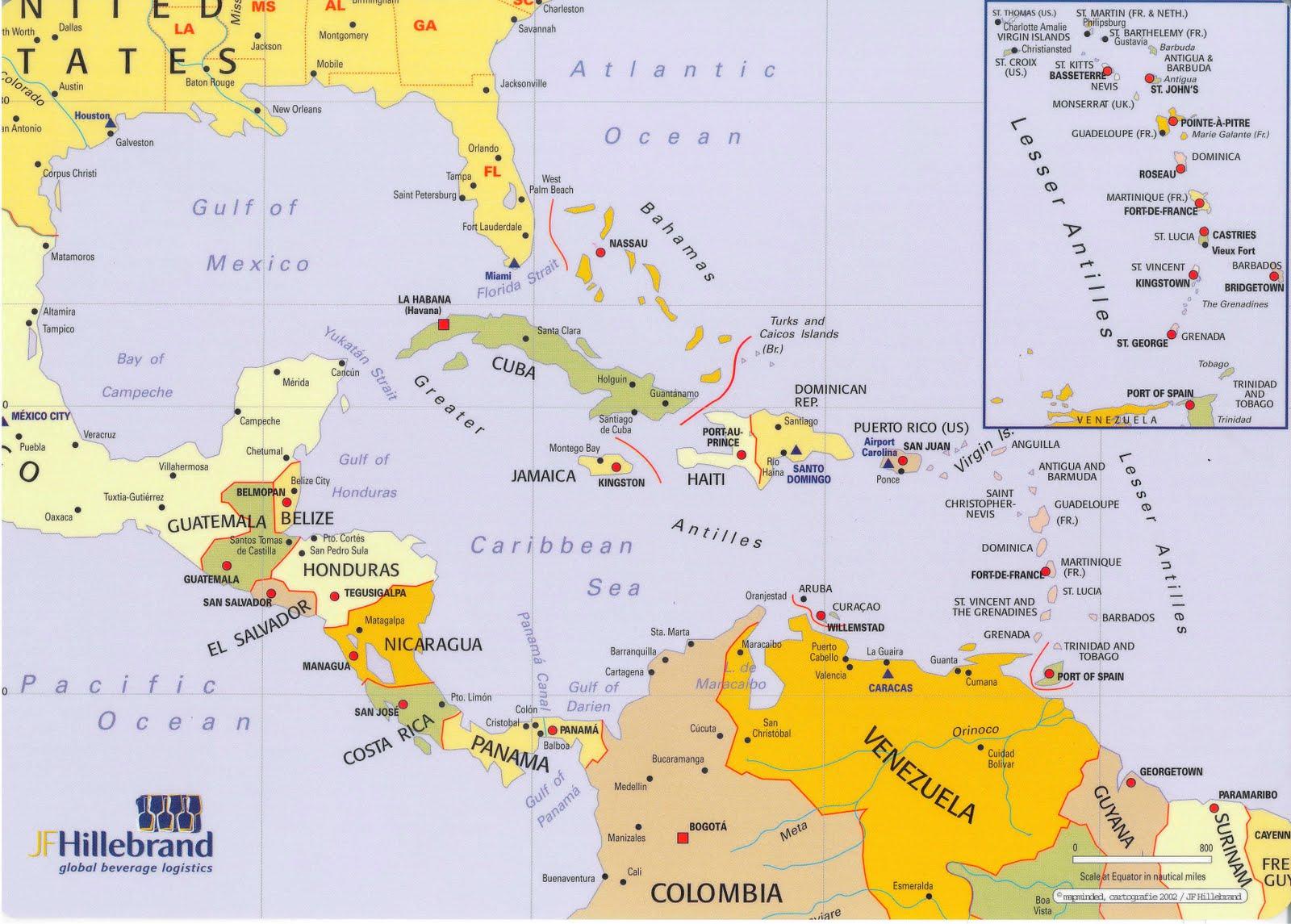 Mapas Puertos y Aeropuertos